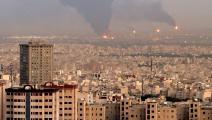 حريق مصفاة طهران