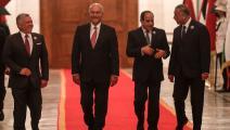 القمة الثلاثية في بغداد