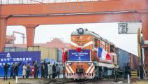 قطارات الشحن من الصين إلى أوروبا (Getty)