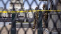 سياسة/جنود الحرس الوطني الأميركي/(جون مور/Getty)