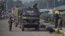 سياسة/قوات هندية/(بسيط زارغار/Getty)