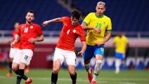 Getty-Brazil v Egypt: Men's Football Quarterfinal - Olympics: Day 8