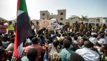 السودان: احتجاجات في محيط قيادة الجيش (Getty)