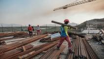 إثيوبيا تتمسك بملء السد بشروطها (إدواردو سوتيراس/ فرانس برس)