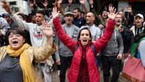 تظاهرة في العاصمة الجزائرية (رياض كرامدي/فرانس برس)