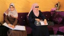 الفتاتان شمس وهنية أبو شحمة