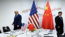 ترامب والرئيس الصيني/سياسة/غيتي