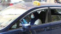 سائقة سيارة أجرة في لبنان (حسين بيضون)