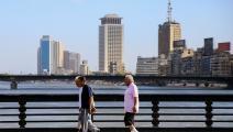 المتنزهون قلّة في مصر  (سامر عبدالله/ فرانس برس)