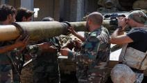 قصف مدفعي للنظام/سياسة/غيتي