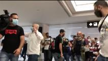لبنان اعتداء على الصحافيين في مطار بيروت (تويتر)
