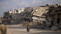 تبدلت أحوال مدينة درعا في السنوات الأخيرة (محمد أبازيد/فرانس برس)