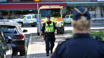 شرطة في السويد (جوهان نيلسون/ فرانس برس)