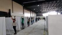 مبادرة شبابية لإنشاء مستشفى ميداني لعلاج كورونا في الموصل (فيسبوك)