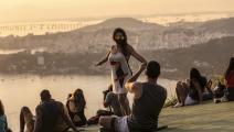 كورونا في ريو دي جانيرو في البرازيل (لويز ألفارينغا/ Getty)