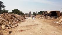 هدم مقابر المماليك في القاهرة (فيسبوك)
