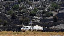 """عاينت قوات """"اليونيفيل"""" العاملة في جنوب لبنان المنطقة التي تعرضت للقصف (حسين بيضون)"""