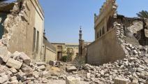 من المقابر المملوكية بعد مرور الجرافات قبل أسبوع (محمد مصطفى، Getty)