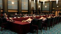 سياسة/جلسة الحكومة العراقية بالبصرة/(توتير)