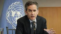 المقرر الخاص للأمم المتحدة لحرية التعبير ديفيد كاي RODRIGO BUENDIA/AFP