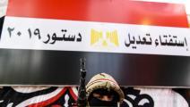 كرّس السيسي عسكرة الدولة (خالد دسوقي/فرانس برس)