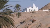 من بلدة مطماطة في جنوب تونس (Getty)