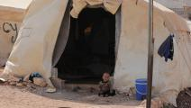 مخيم في إدلب