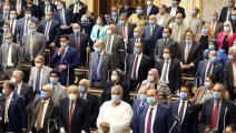 البرلمان المصري يوافق على التدخل في ليبيا (فرانس برس)