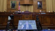 جيف بيزوس أمام الكونغرس (غرايام جينينغز/Getty)
