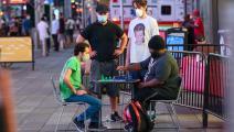 شطرنج في الولايات المتحدة الأميركية (نوام غالاي/ Getty)