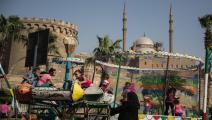 ملاهي العيد - مصر(محمد حمود/وكالة الأناضول)