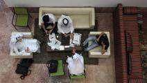 في إحدى جامعات الدوحة