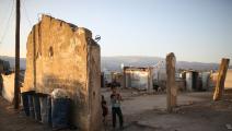السوريون في لبنان (محمد الشامي/فرانس برس)