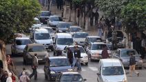 ازدحام سير في الجزائر العاصمة (فايز نور الدين/ فرانس برس)