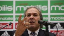 Algerian football legend Rabah Madjer, new national coach of Soccer, attends host a conference at the Sidi-Moussa National Technical Center in Algiers, Algeria on 19 October 2017. (Photo by Billal Bensalem/NurPhoto via Getty Images)
