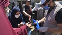 زيادة كبيرة بعدد المصابين بكورونا في الجزائر (Getty)