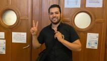 بوخرص يقول أن طلب اعتقاله سياسي بحت (فيسبوك)