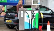 محطة وقود في بريطانيا