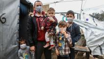 تفشي فيروس كورونا زاد من معاناة اللاجئين في العالم (Getty)