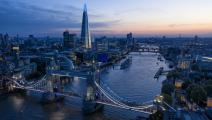 ناطحة السحاب شارد تسيطر على أفق لندن