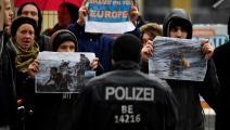 ضد سياسة الهجرة الأوروبية في ألمانيا (جون ماكدوغال/فرانس برس)