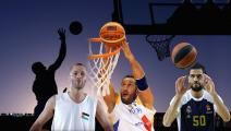 نجوم عرب تألقوا في كرة السلة