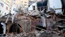 الركام يملأ بيروت (حسين بيضون)