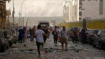 أدى انفجار مرفأ بيروت إلى مقتل ما لايقل عن 169 شخص (حسين بيضون)