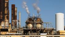 التلوث الناتج عن المنشآت النفطية يؤثّر على صحة المواطنين (عبد الله دوما/ فرانس برس)