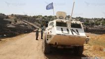 قوات اليونيفيل (حسين بيضون/العربي الجديد)
