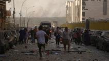 انفجار لبنان (حسين بيضون/ العربي الجديد)