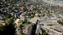 مشهد لـ مدينة جيروكاستر في جنوب ألبانيا-(getty)- القسم الثقافي