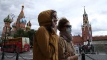 تستمر الإجراءات الوقائية في روسيا (ميخائيل سفيتلوف/ Getty)