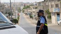 فرض حظر التجوّل - غزة(عبد الحكيم أبو رياش/العربي الجديد)